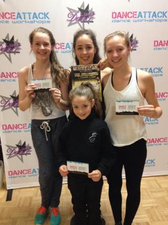 Dance Attack Scholarship Winners