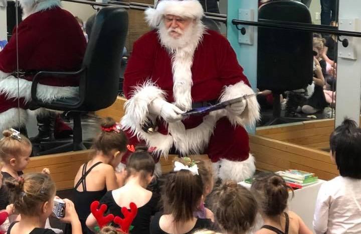 Santa Visits EDF
